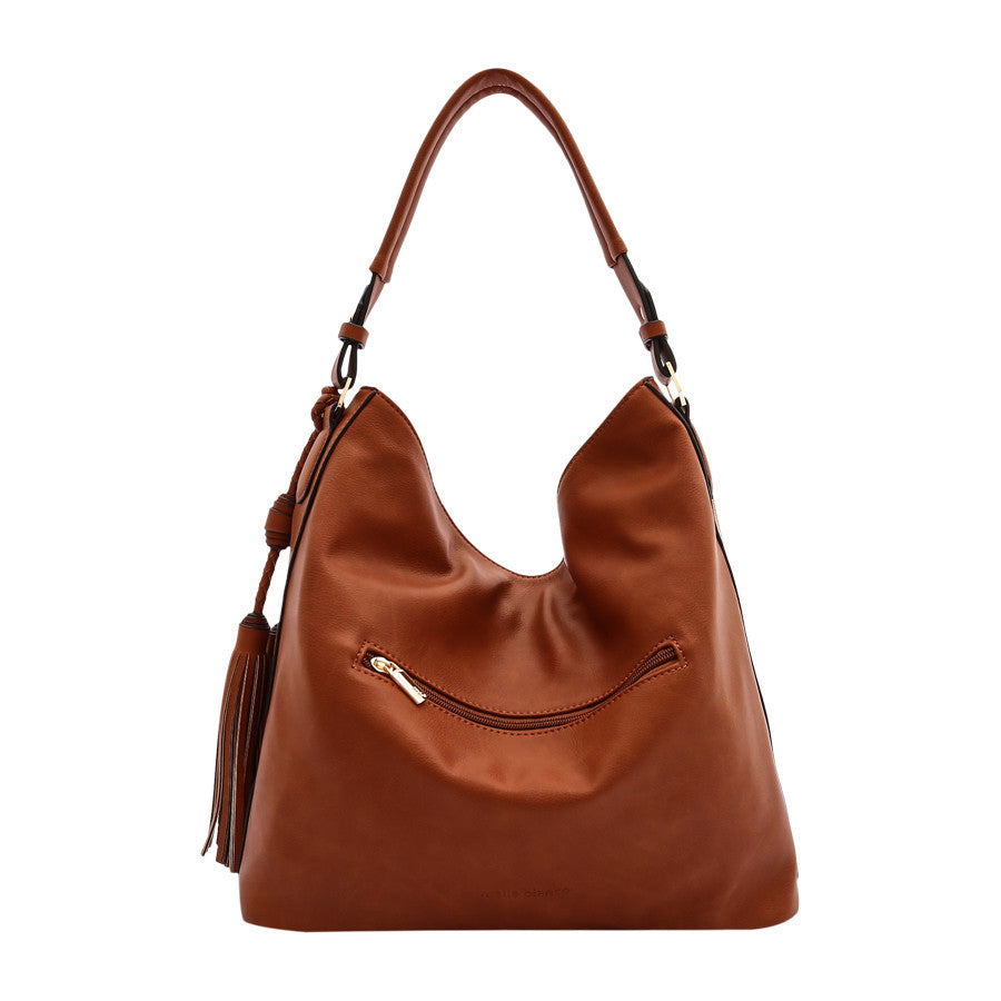 Brooke Large Shoulder Bag - Melie Bianco - 3
