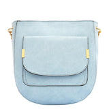Jovie Medium Front Pocket Shoulder Bag - Melie Bianco - 9