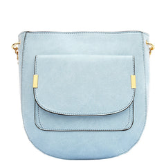 Jovie Medium Front Pocket Shoulder Bag - Melie Bianco - 3