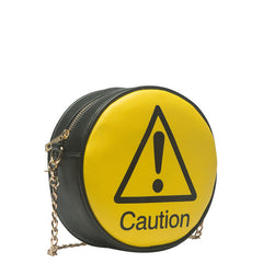 Traffic Sign Round Crossbody - Melie Bianco - 8