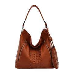 Brooke Large Shoulder Bag - Melie Bianco - 2