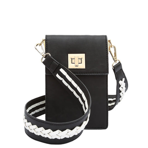 Brett Black Tech Crossbody - Melie Bianco - 1