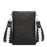 Brett Black Tech Crossbody - Melie Bianco - 3