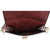 Brett Burgundy Tech Crossbody - Melie Bianco - 4