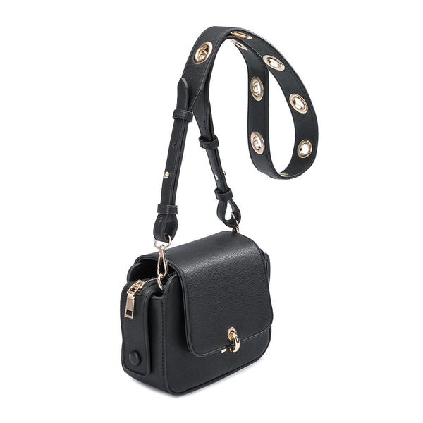 Kim Black Crossbody