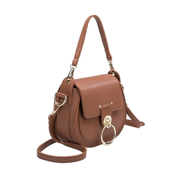 Ariel Saddle Crossbody