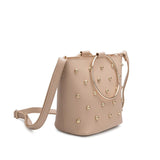 Makenzie Nude Studded Crossbody