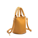 Colette Yellow Bucket Crossbody