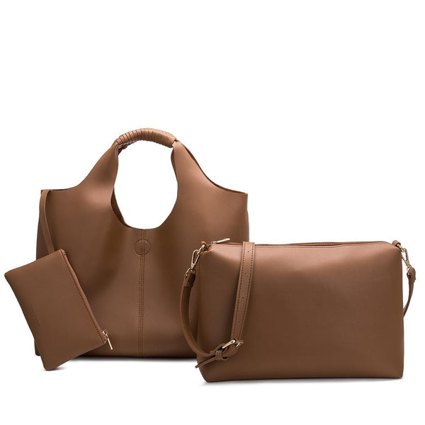 Diana Tan Large Shoulder Bag