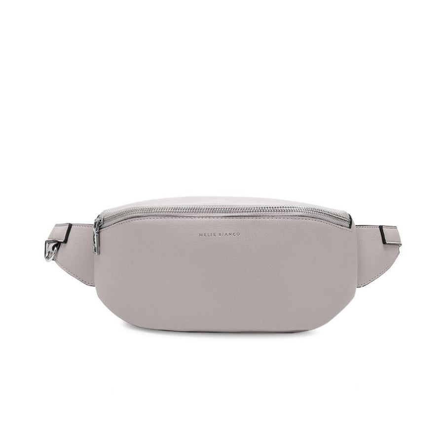 Melie Bianco Luxury Vegan Leather Jenna Belt Bag in Bone