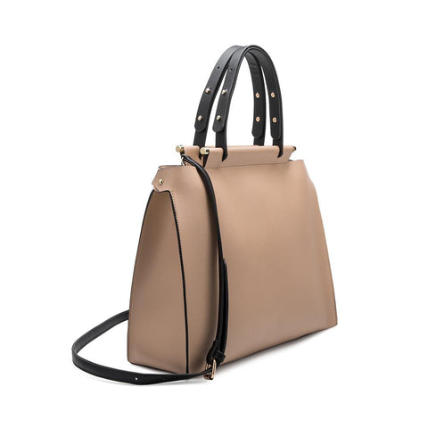 Isabella Nude Large Tote