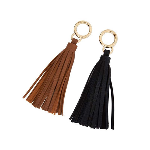Vegan Leather Tassel