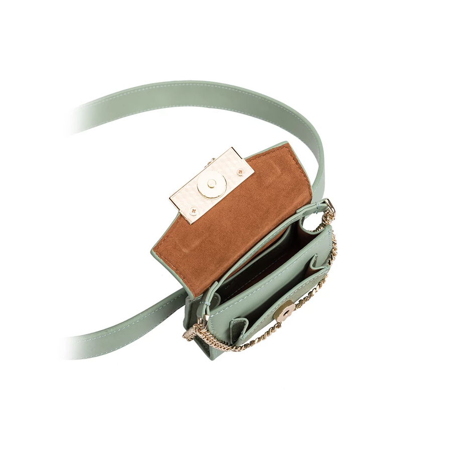 Olivia Mint Convertible Belt Bag