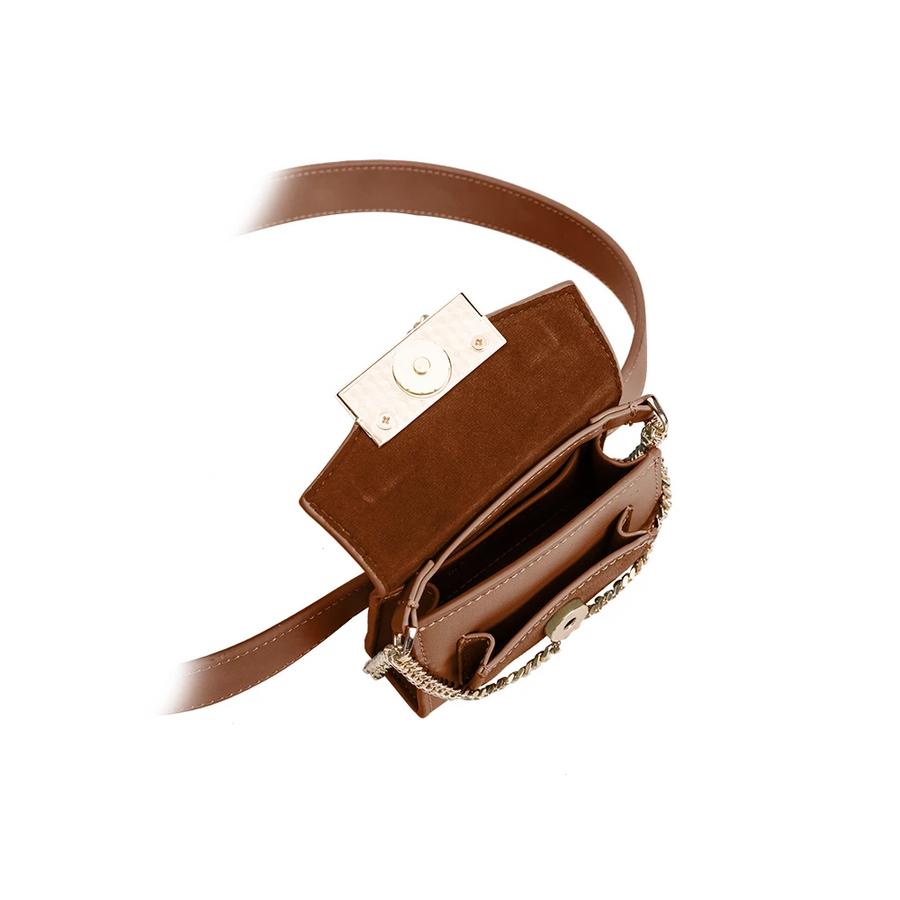 Olivia Tan Convertible Belt Bag