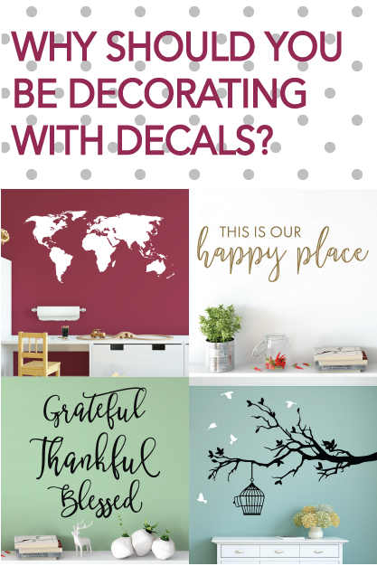 Why decorate with decals?
