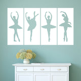 Ballerina Panels Wall Panels in White