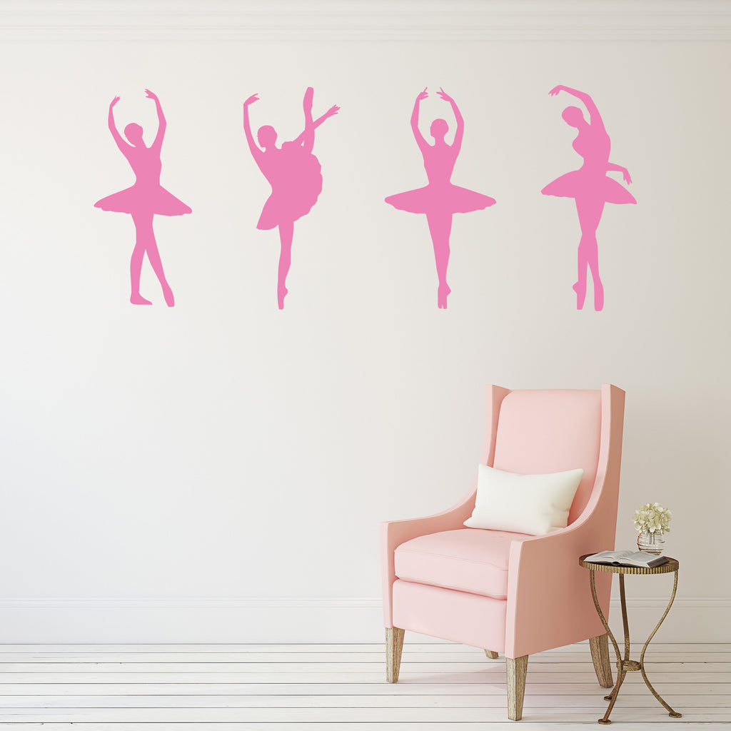 Ballerina Decals in Bubblegum