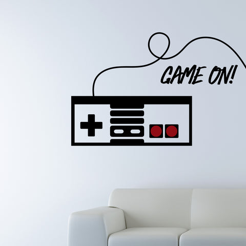 """Game On!"" text input"