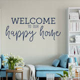 Happy Home in Navy