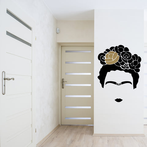 Gold Flower - Kahlo Decal