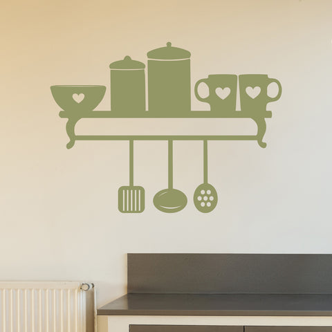 Utensil Kitchen Shelf