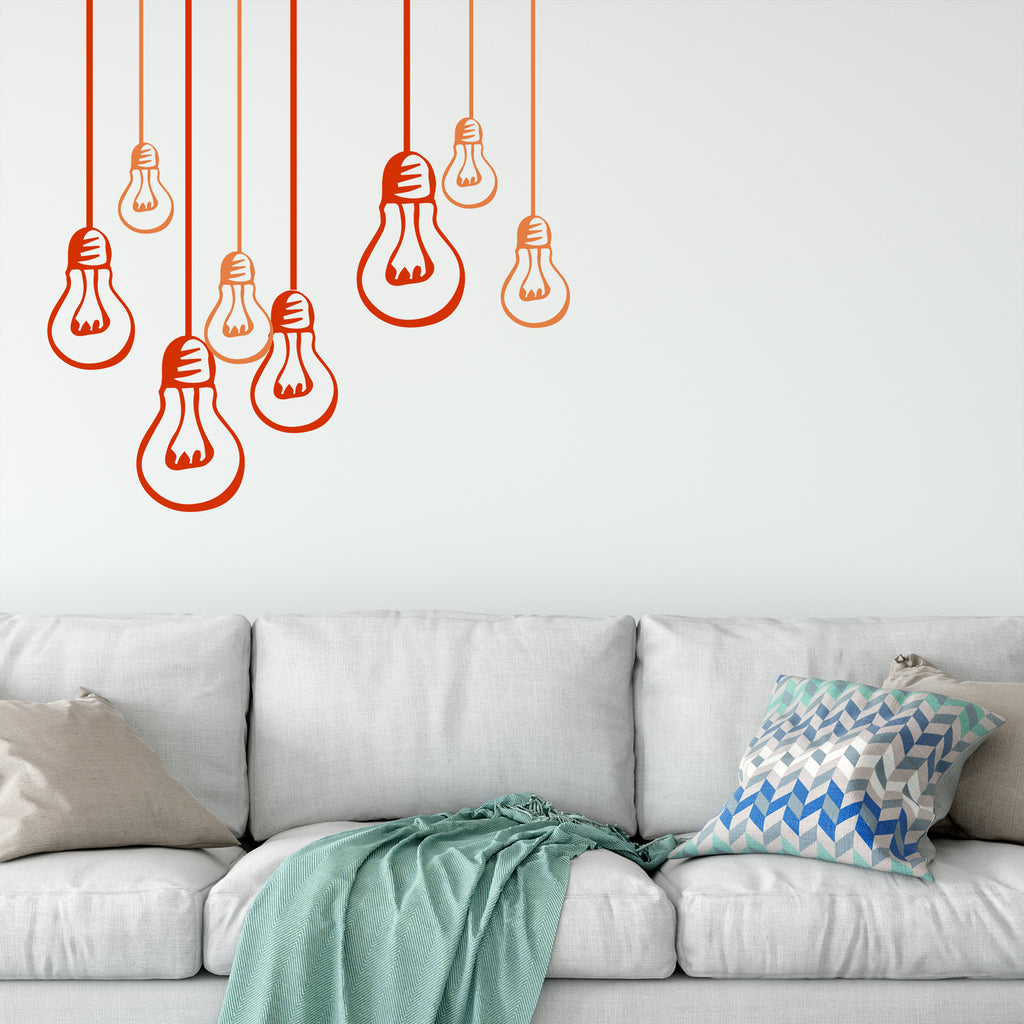 Colorful Light Bulbs (Different Sizes)