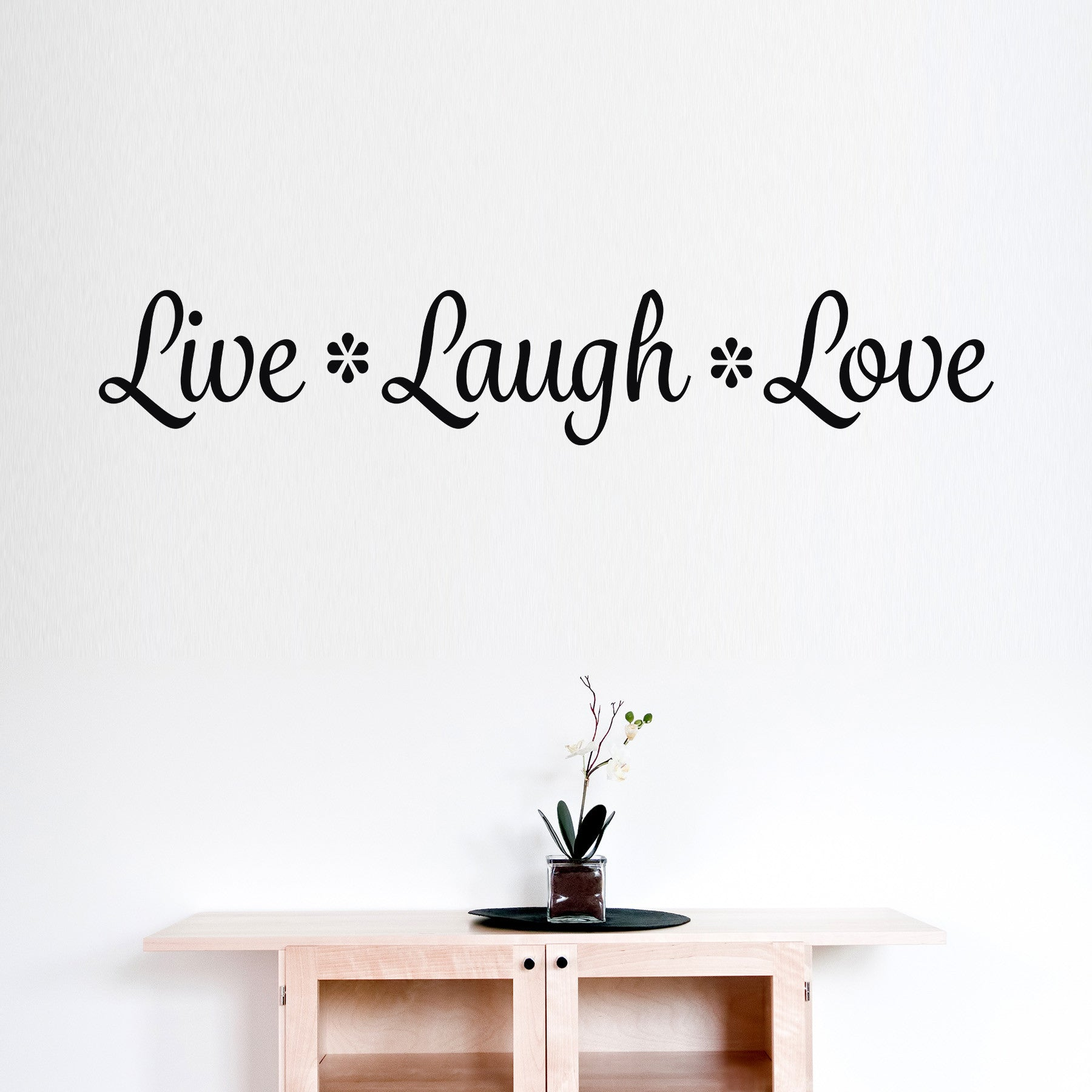 Live Laugh Love Quote Live Laugh Love Wall Decal Wall Quote  Deecal Frenzy  Deecal