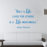 Life Lived for Others