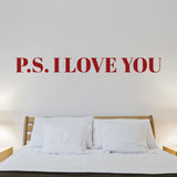 P.S. I Love You Style #2