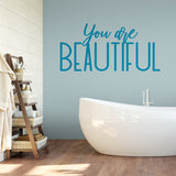 You Are Beautiful in Teal