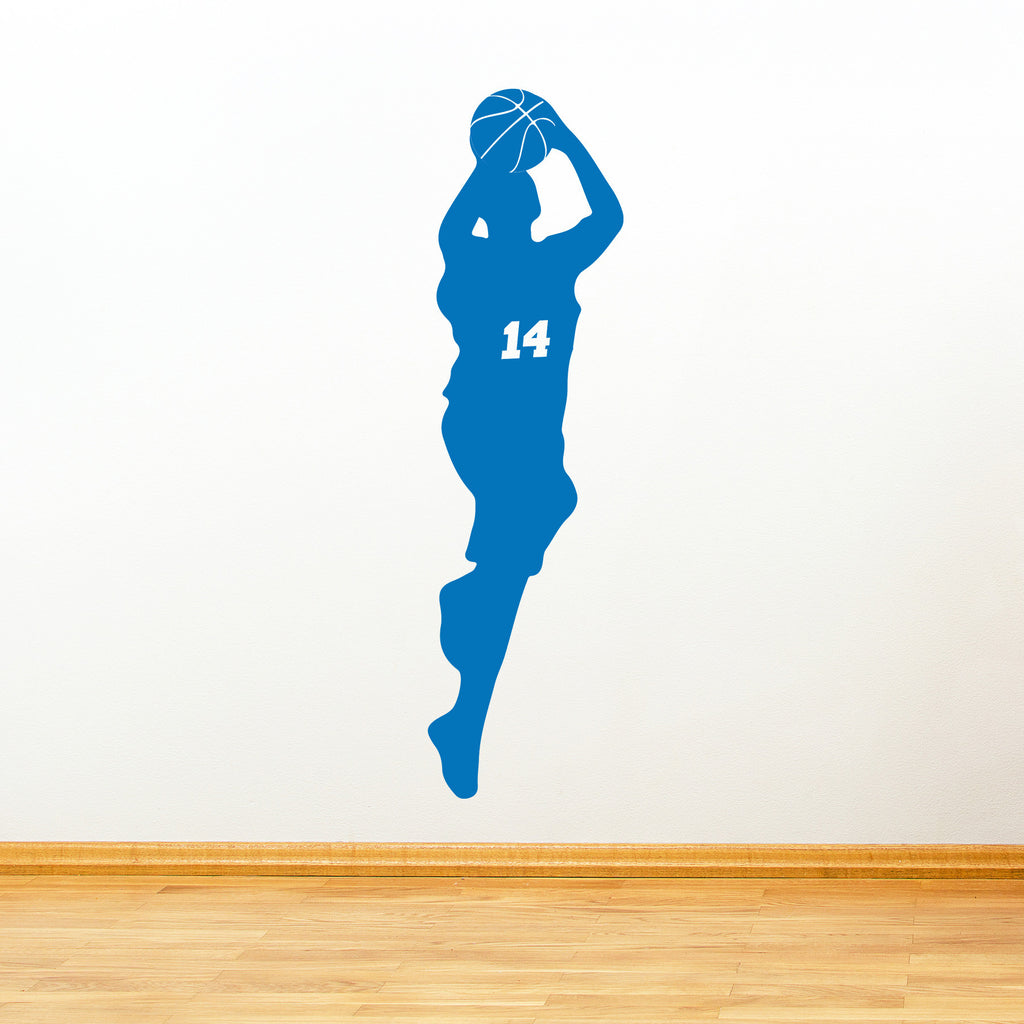 Customizable Basketball Player Number