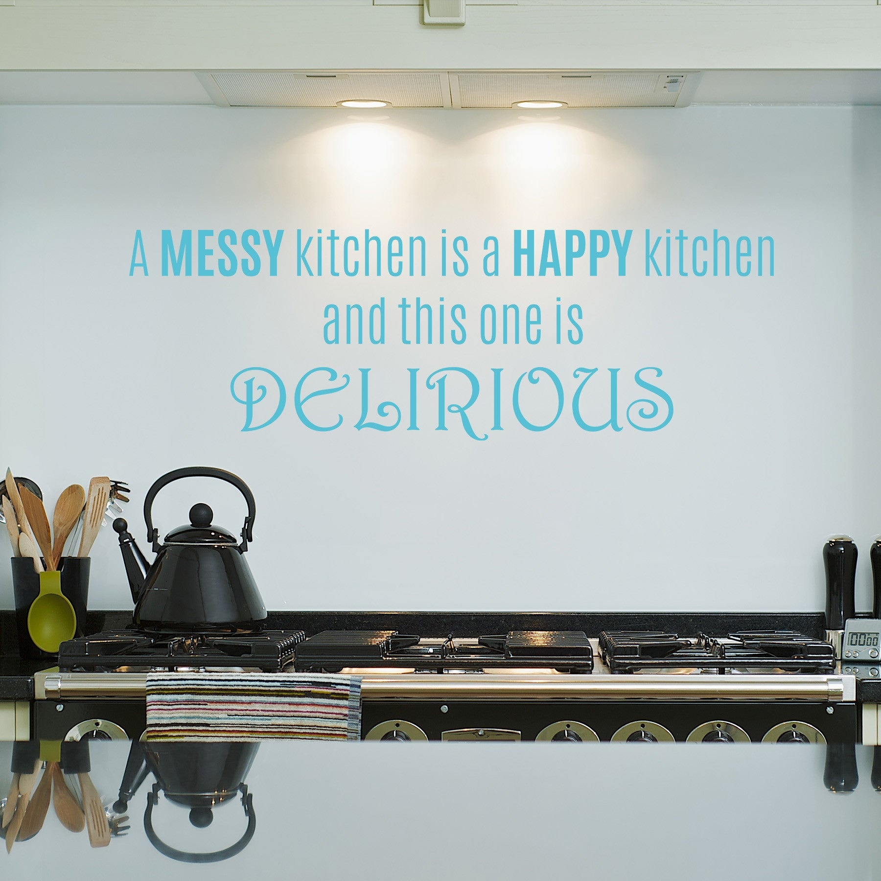 Delirious Kitchen – Dee-cal Frenzy Wall Decor