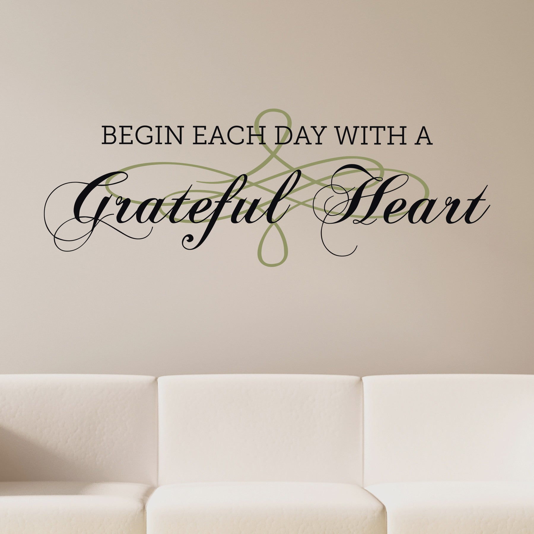 Grateful Heart Wall Quote Dee Cal Frenzy Wall Decor