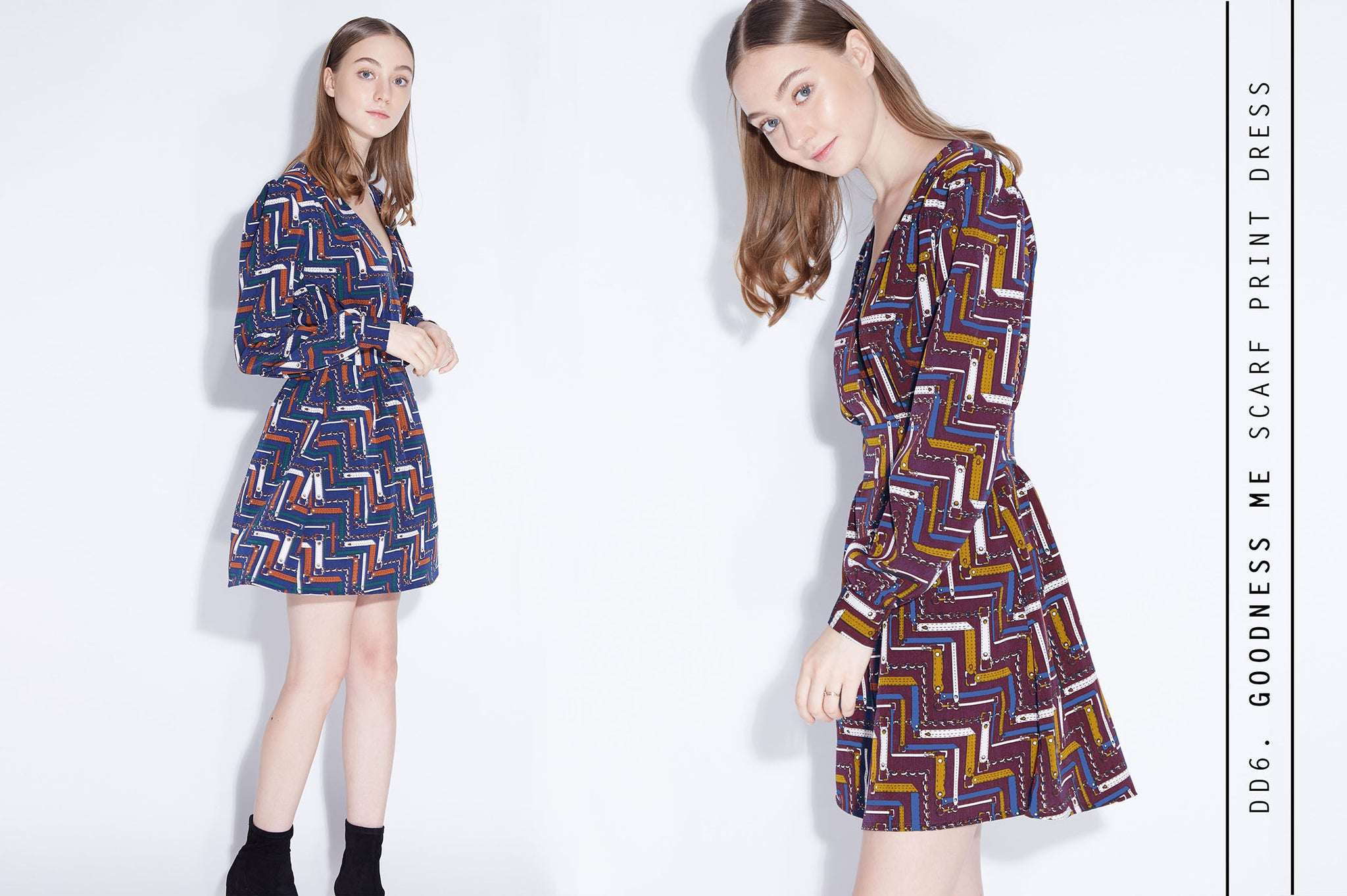 GOODNESS ME Scarf Print Dress