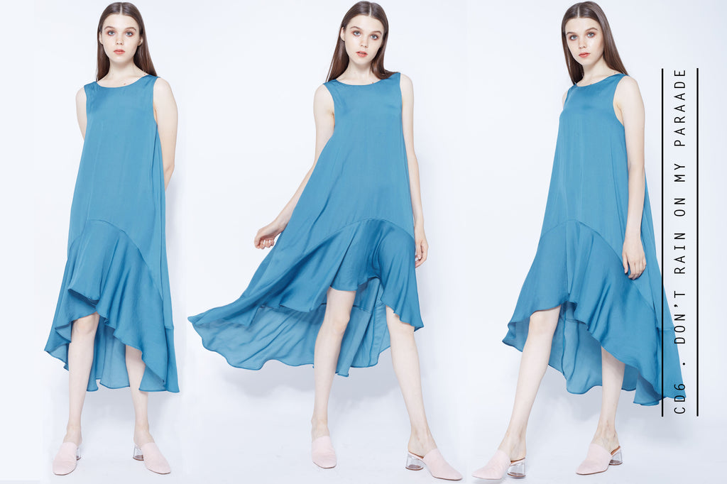 Don't rain on my parade swing dress