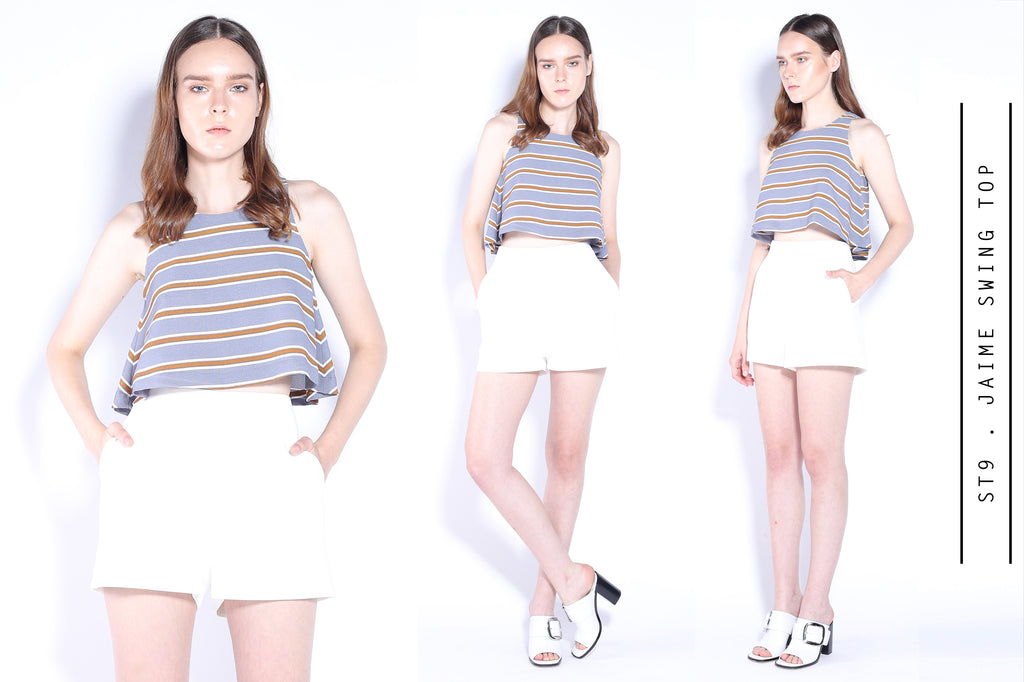 JAIME Swing Cropped Top