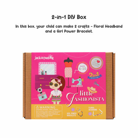 Little Fashionista DIY Craft Box