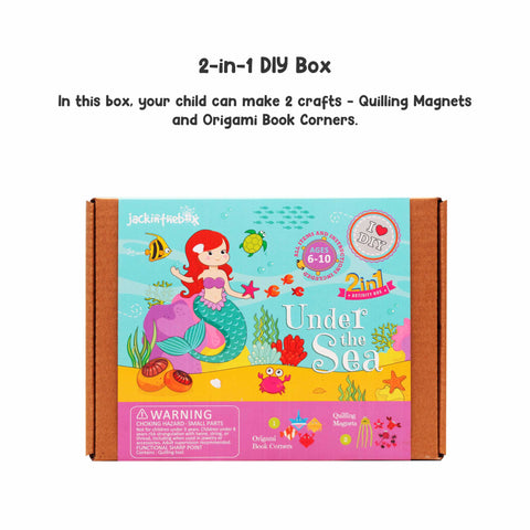 Under the Sea 2-in-1 DIY Craft Box