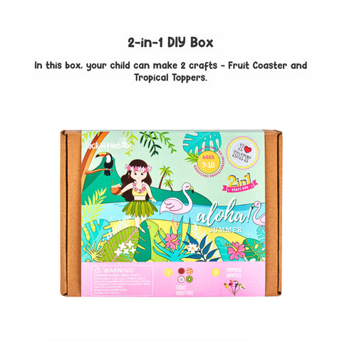 Aloha Summer 2-in-1 DIY Craft Box