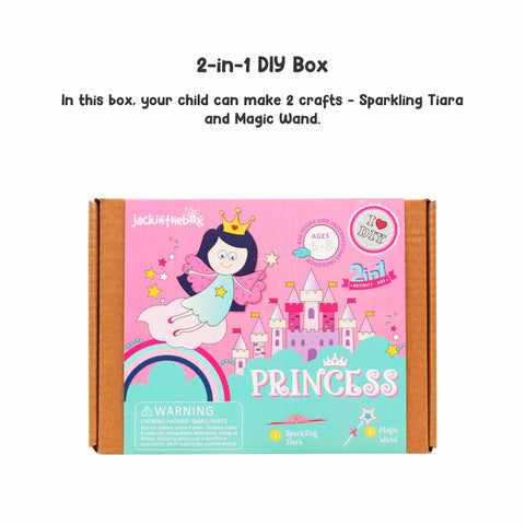 Princess 2-in-1 DIY Craft Box