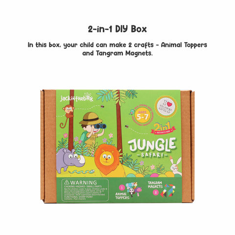 Jungle Safari 2-in-1 DIY Craft Box
