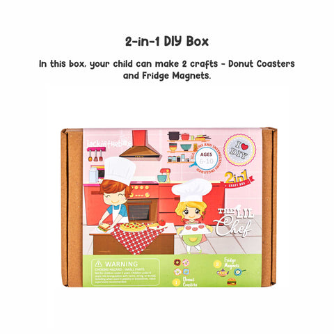 The Lil Chef 2-in-1 DIY Craft Box
