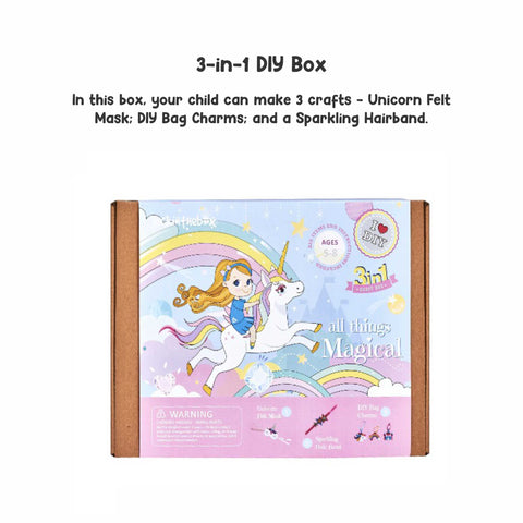 All Things Magical 3-in-1 DIY Craft Box