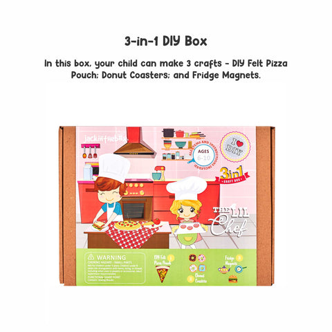 The Lil Chef 3-in-1 DIY Craft Box