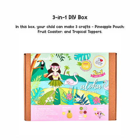 Aloha Summer 3-in-1 DIY Craft Box