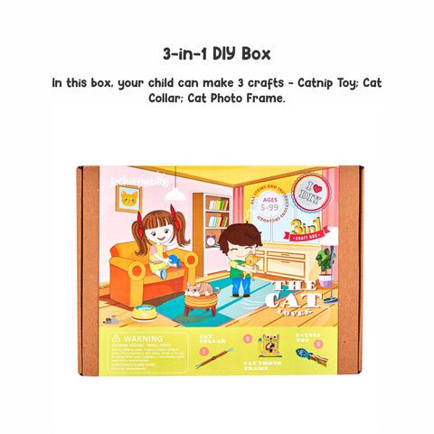The Cat Lover 3-in-1 DIY Craft Box