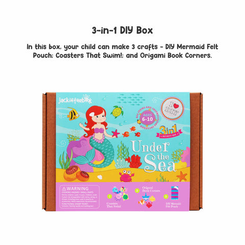 Under the Sea 3-in-1 DIY Craft Box