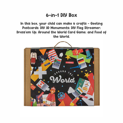 Around the World 6-in-1 DIY Craft Box
