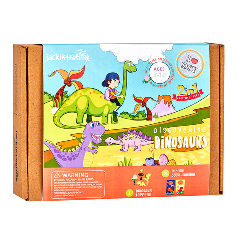 Discovering Dinosaurs: 2-in-1