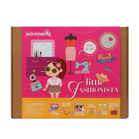 Little Fashionista 6-in-1 DIY  Craft Box
